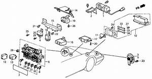 1998 Honda Accord Exhaust System Diagram