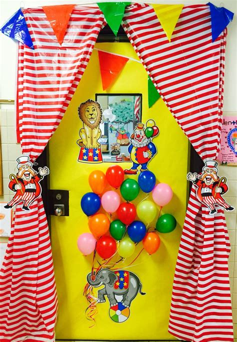circus theme classroom ideas  pinterest