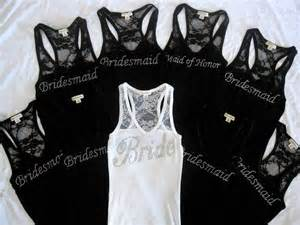 bridesmaid shirt 9 bridesmaid tank top shirt of honor matron of honor lace bachelorette