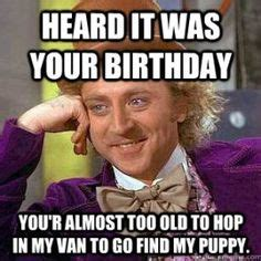 Birthday Meme So It Begins - meme i know i wont see you but happy birthday make a new meme with the stevie wonder meme