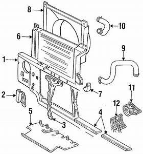 Ford F-250 Hd Hose - Radiator  Upper Hose  Pick  Cooling  Diesel