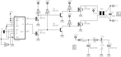 Portable Power Inverter Circuit