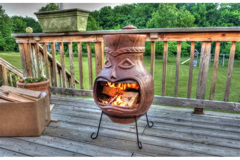 Chiminea Clay Home Depot - chiminea stand lowes find the pit design