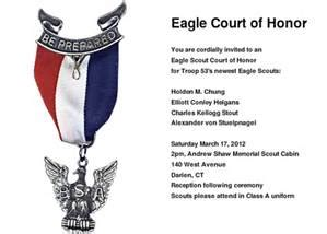 eagle scout court of honor program template eagle scout invitations template invitation template