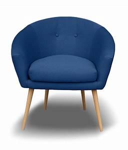 Fauteuil Bleu Marine : fauteuil vanta marine ~ Teatrodelosmanantiales.com Idées de Décoration