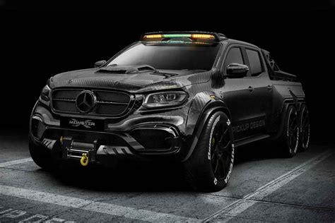 Mercedes 6x6 pickup truck (page 1). Carlex Mercedes-Benz X-Class 6×6 Truck | Uncrate