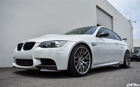 Bmw Mineral White by Mineral White Bmw M3 Gets Lowered And Tastefully Modded