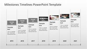 milestones timeline powerpoint template With milestone chart templates powerpoint