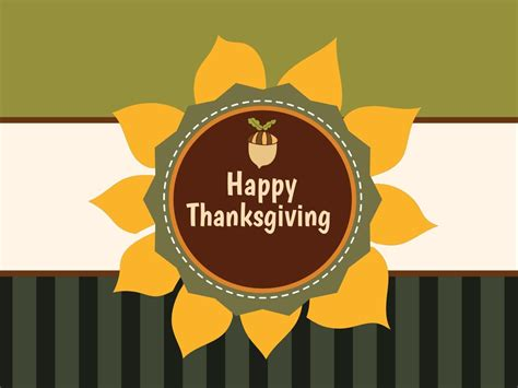 greeny personalizable thanksgiving card template