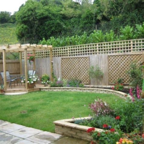 contemporary home backyard backyard garden design ideas