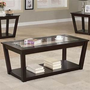 glass and wood coffee table sets brucallcom With wood and glass coffee table sets