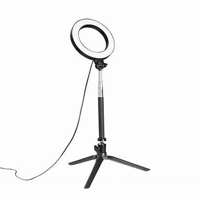 Ring Phtography Dimmable Selfie Stick Lamp Professional