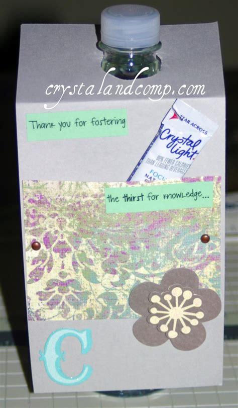 teacher appreciation gifts diy water bottles
