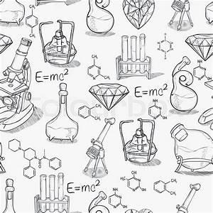 Hand Drawn Science Vintage Chemistry