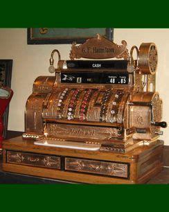 antique brass cash register vintage  antique