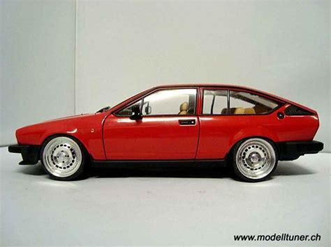Alfa Romeo Gtv 20 Miniature Alfetta 1980 Autoart 118