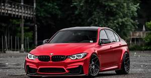 DUB Magazine - Satin Red BMW M3  Red