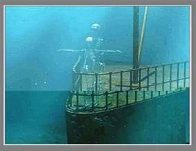 Titanic Underwater Skeletons
