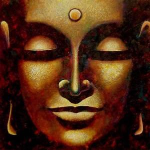 Buddha Bilder Gemalt : bild buddha gem lde malerei ausdrucksmalerei von igor status bei kunstnet ~ Markanthonyermac.com Haus und Dekorationen