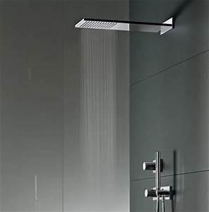 Douche Pluie Encastrable : robinets salle de bains ~ Dallasstarsshop.com Idées de Décoration