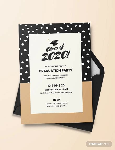 19+ Graduation Party Invitation Designs PSD AI Word