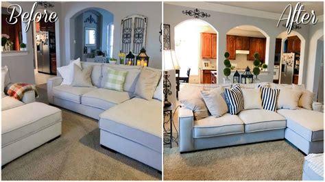 living room makeover   budget farmhouse decor