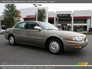 Light Bronzemist Metallic - 2000 Buick Lesabre Limited - Taupe Interior