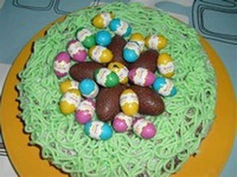 herve cuisine foret nid de pâques au chocolat apprendre la pâtisserie alp