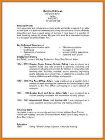 curriculum vitae format template download 12 cv template uk 2017 cashier resumes