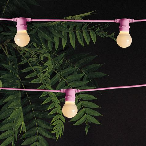 outdoor garland lighting by out there interiors