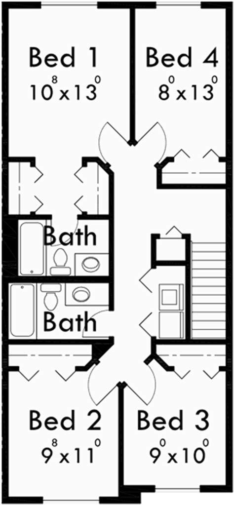 plex building plans  bedroom house plans row house plans
