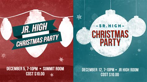 christmas party ideas for church youth group all ideas