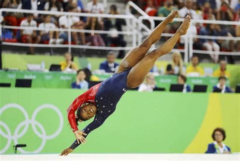 Biles Floor Routine 2016 by 2016 Biles Storms To Victory With Second