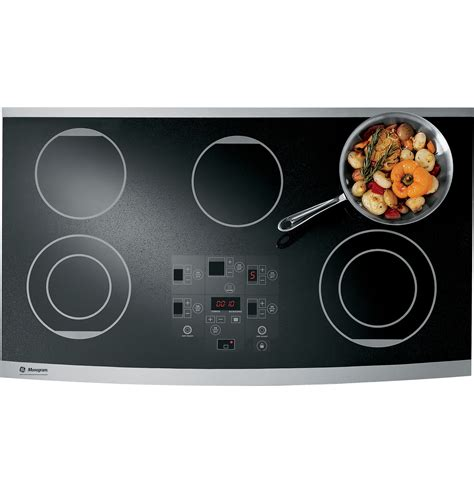 monogram  digital electric cooktop zeursfss ge appliances