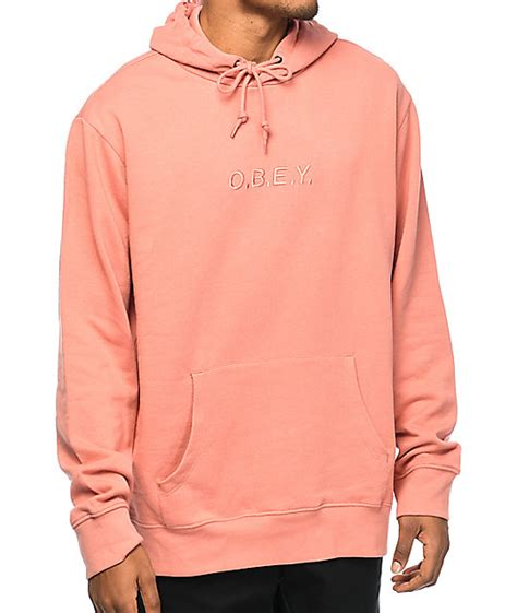 Obey Type Rose Hoodie | Zumiez
