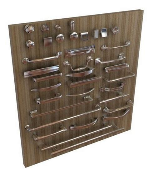 Kitchen Handles 3d Model by A Set Of Door Handles 3d Model Free 3d