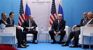 Merkel Says Welcomes Putin-Trump Meeting at G20 Summit ...