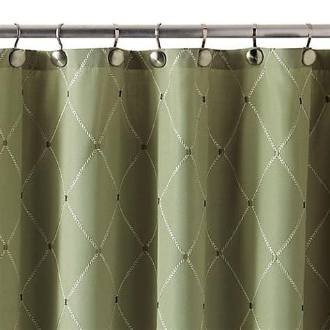 72 x 84 shower curtain buy wellington 72 inch x 84 inch shower curtain in green
