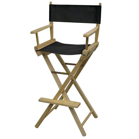 director chair bar height color thermal imprint
