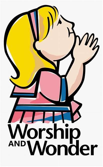 Clip Worship Praise Clipart Church Wednesday Welcome