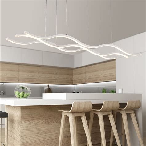 modern light fixtures for dining quot hydra quot three wave pendant light modern place