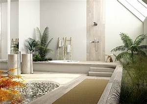 Feng Shui Eingangsbereich : salle de bain zen 25 id es de d coration ~ Articles-book.com Haus und Dekorationen