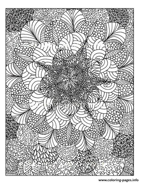 adult zen anti stress anti stress  print coloring pages