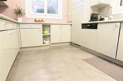 sol cuisine béton ciré sol cuisine bton cir le bton cir beton cire sol beton