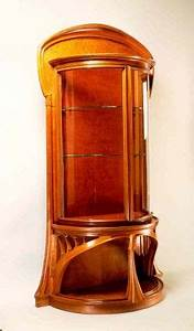 Art Nouveau Mobilier : eug ne vallin vitrine hekking mus e de l 39 ecole de nancy ~ Melissatoandfro.com Idées de Décoration