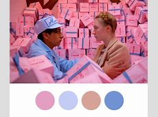 ANTISOCIETYCOM » Blog Archive » Wes Anderson Palettes
