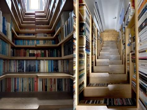 Moderne Und Kreative Innenraum Holztreppenwandregal Als Treppe by 30 Ideen F 252 R Kreatives Treppen Design Lifestyle Trend