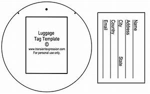 luggage tag template luggage tags all form templates With luggage labels template