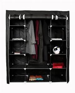 Armoire De Rangement : armoire de rangement en tissu noir magasin en ligne gonser ~ Teatrodelosmanantiales.com Idées de Décoration