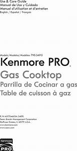 Kenmore Pro 79034913510 User Manual Cooktop Manuals And